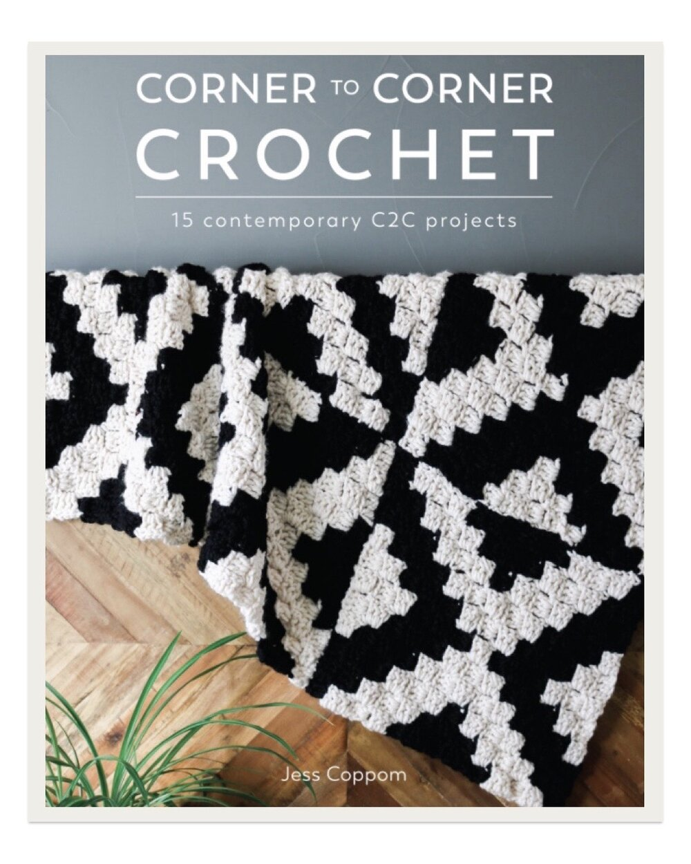 "Jess Coppom takes corner to corner crochet to a whole new level with this lovely book. I used to think corner to corner was only for super ""crafty"" looking charted blankets, but this book is FULL of fashion forward, tasteful and sophisticated projects for garments and home accessories."