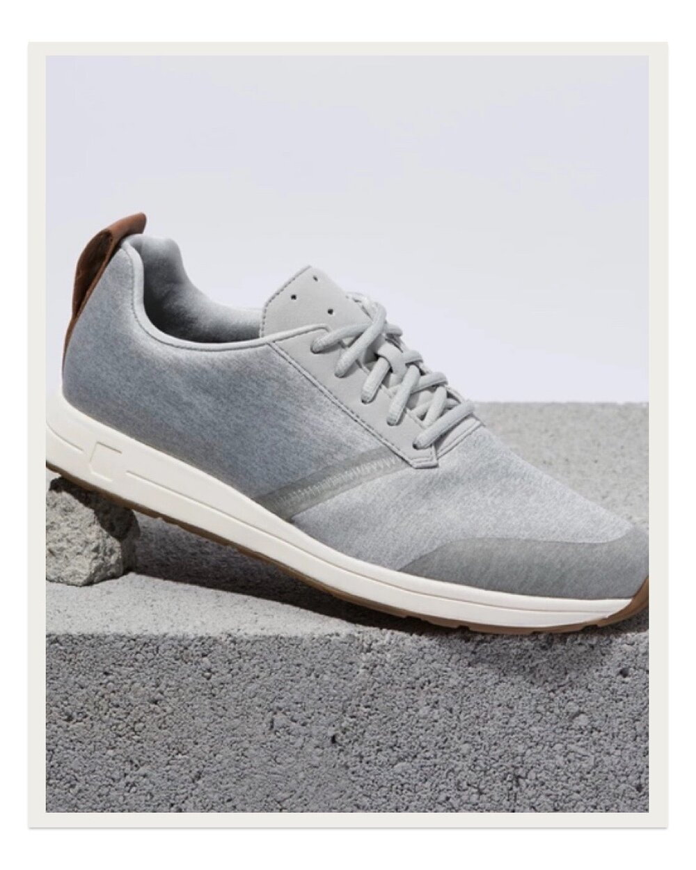 """I never knew sneakers could be considered cozy until I found these York Athletics """"The Henry"""" Sweatshirt Sneakers. They truly feel like wearing slippers and while they're great for everyday wear, they are also totally suitable for working out so they are incredibly functional. Once you put them on you'll never want to take them off! I also love that this is a small company manufacturing their sneakers in New England using quality materials."""