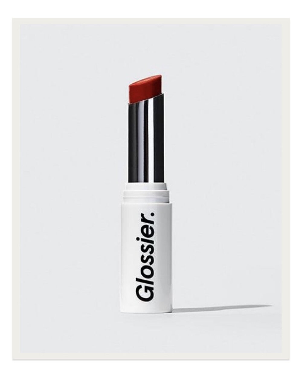 There are so many lovely Glossier products, but this is the first one I used that got me hooked and that I've purchased over and over. This Generation G Sheer Matte Lipstick is so lightweight and buildable and will give you an instant effortless look that livens up your face. I read somewhere when it first came out that the inspiration for this formula was to recreate the effect of your lips getting stained from eating a popsicle, and I still it still feels so youthful and fun to apply each day because of that idea.