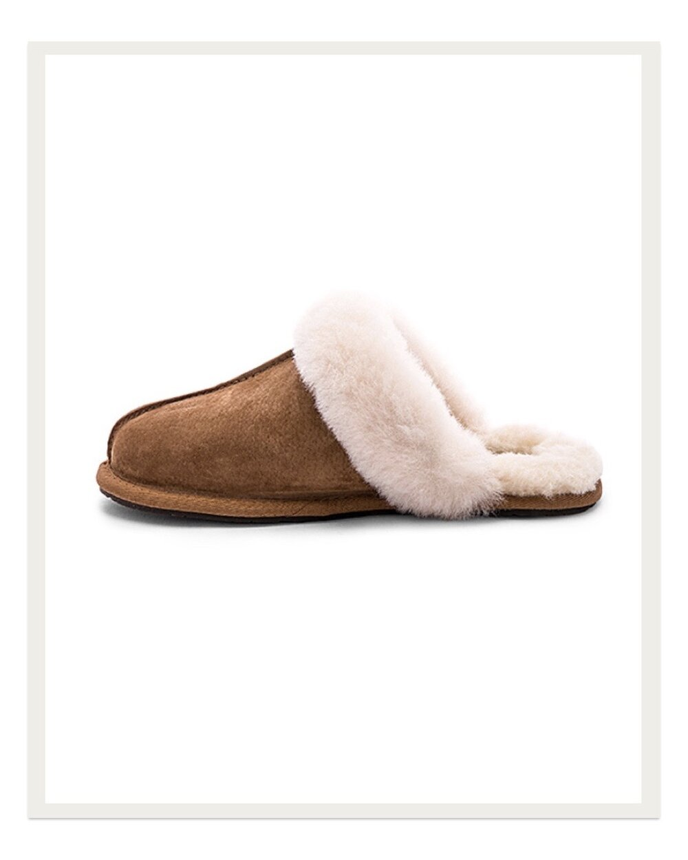 If you're looking for a more luxe slipper this holiday season, these Ugg beauties are so nice looking and well made. They are kings when it comes to cozy, furry shoes, and these slippers are a favorite amongst their customers.