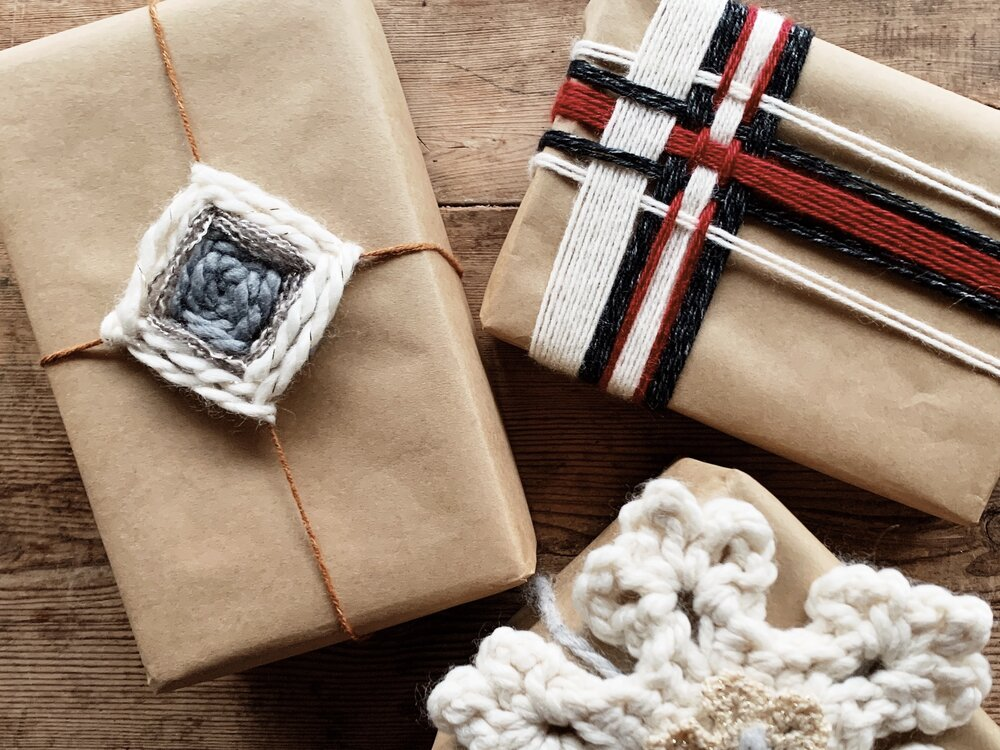 Yarn Decor for the Holidays