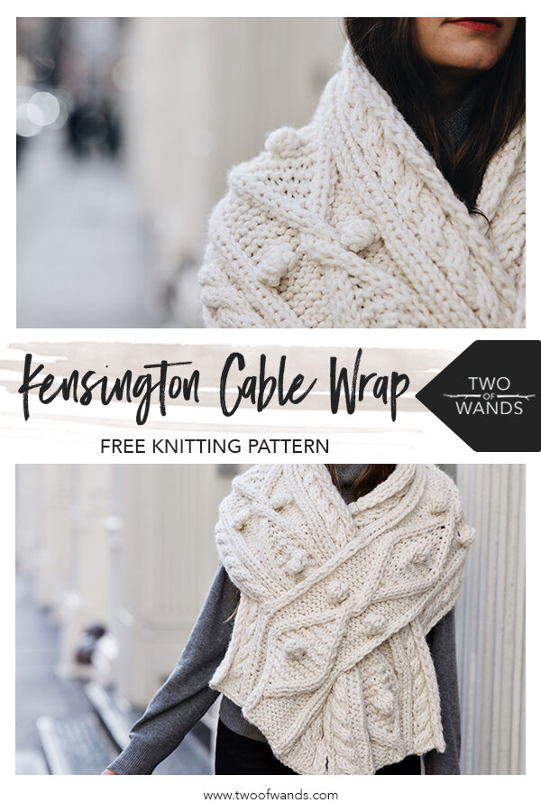 Kensington Cable Wrap pattern by Two of Wands