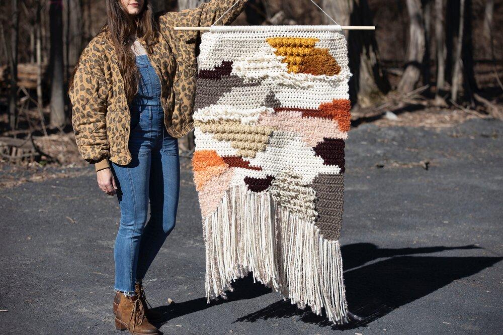 Daybreak Crochet Tapestry
