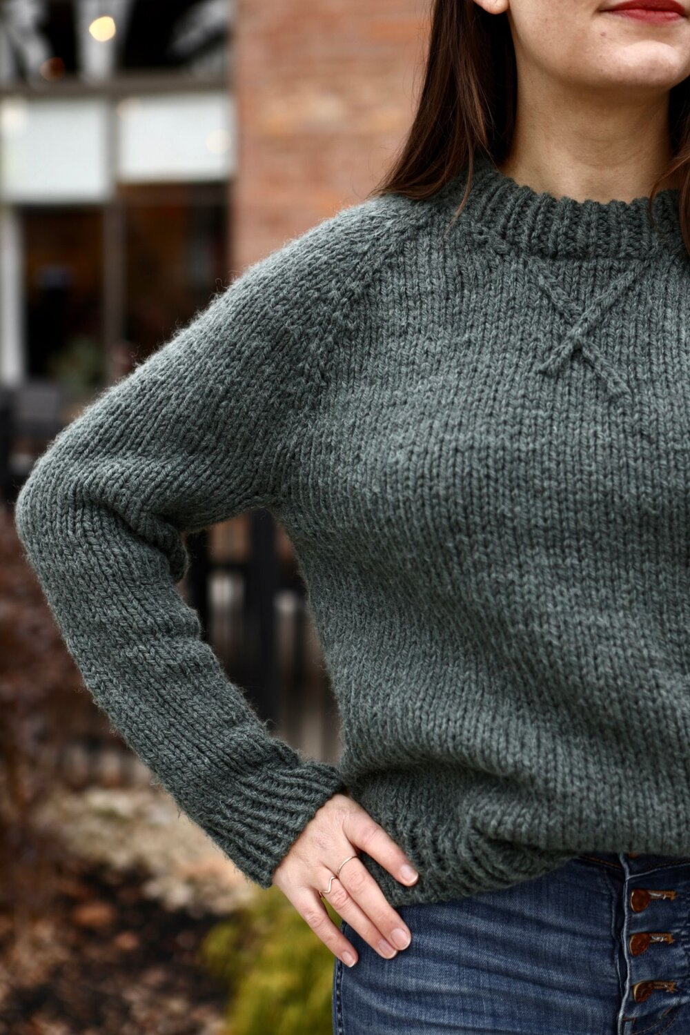 Winter League Pullover Pattern by Two of Wands
