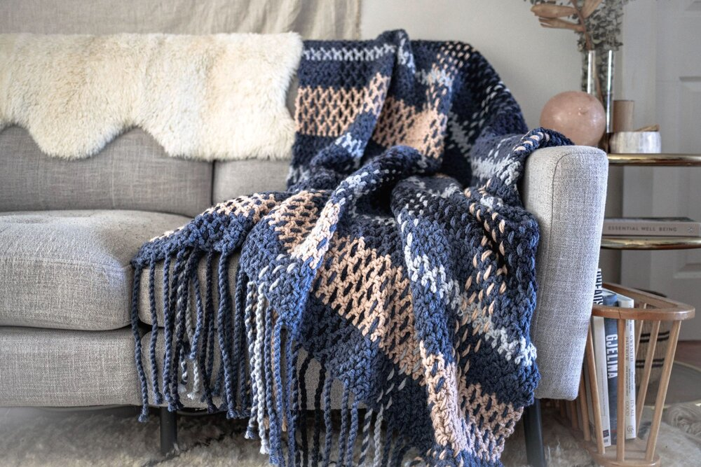 Wildwood Plaid Blanket
