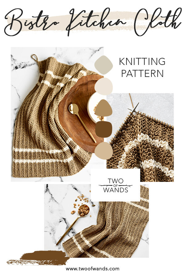 Bistro Kitchen Cloth Pattern by Two of Wands