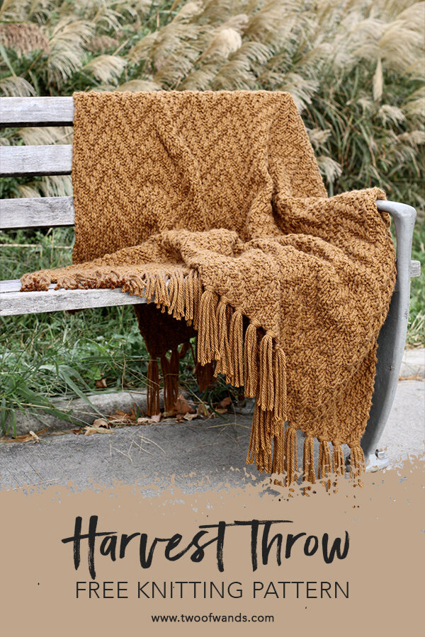 Harvest Throw pattern by Two of Wands