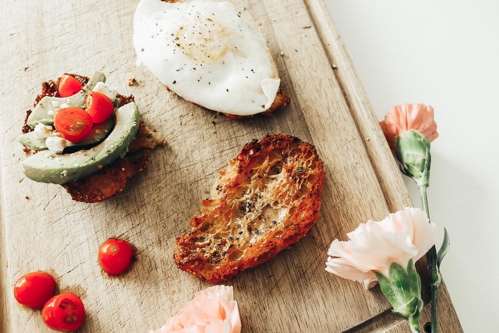 Basil Glazed Avocado Croissant Recipe
