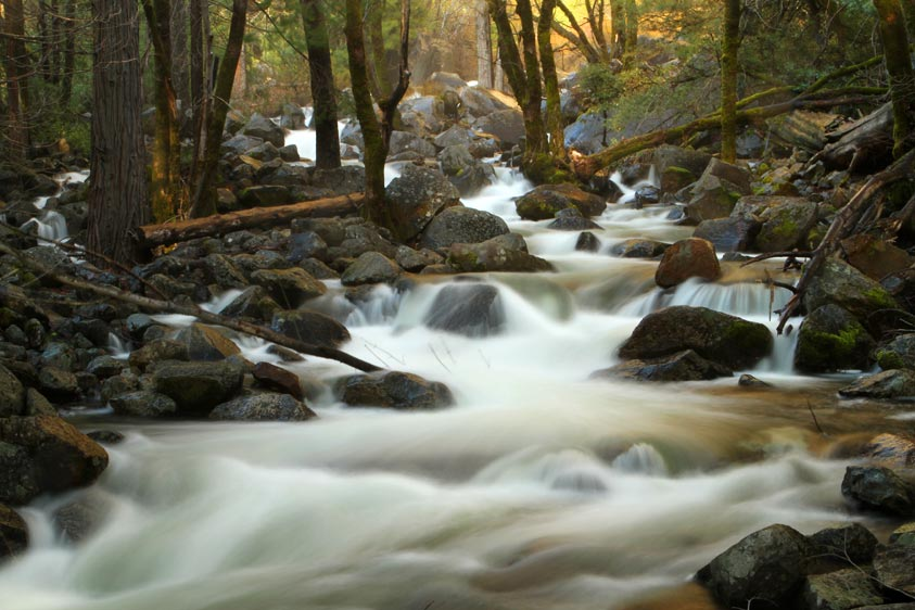 Bridal Veil Falls, Yosemite CA 2012