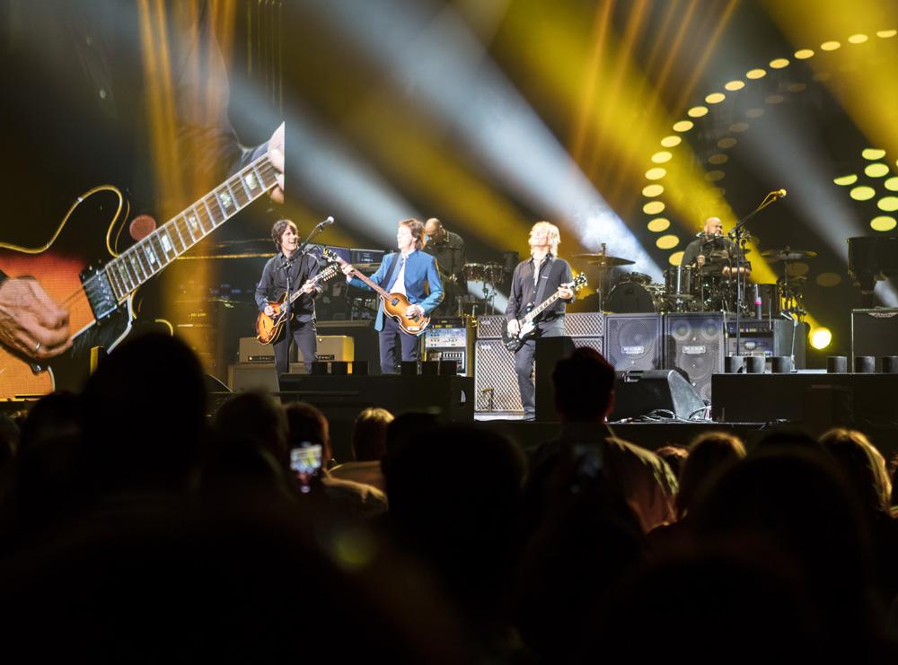 Paul McCartney at Golden 1 Center in Sacramento