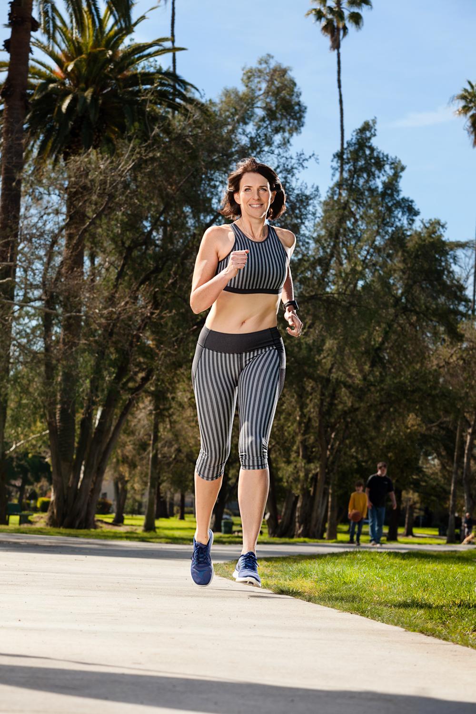 Running Photo for Health Magazine