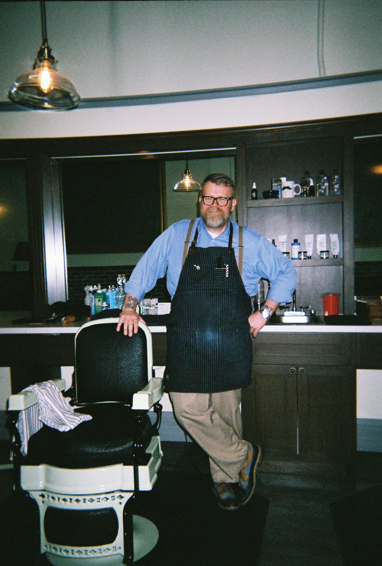 Iverson's Barber Shop - Kevin Hancock