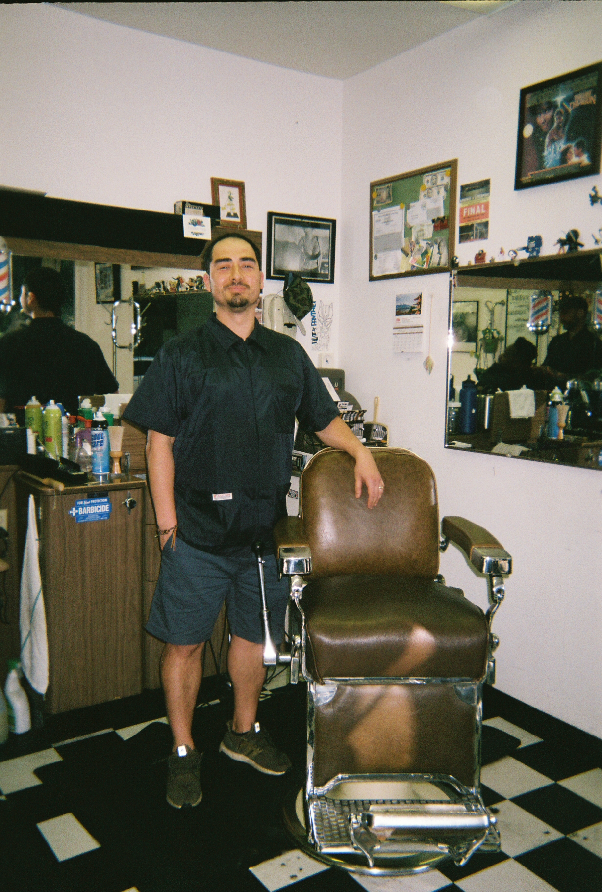 Nisei Barber Shop - Cory Umezu