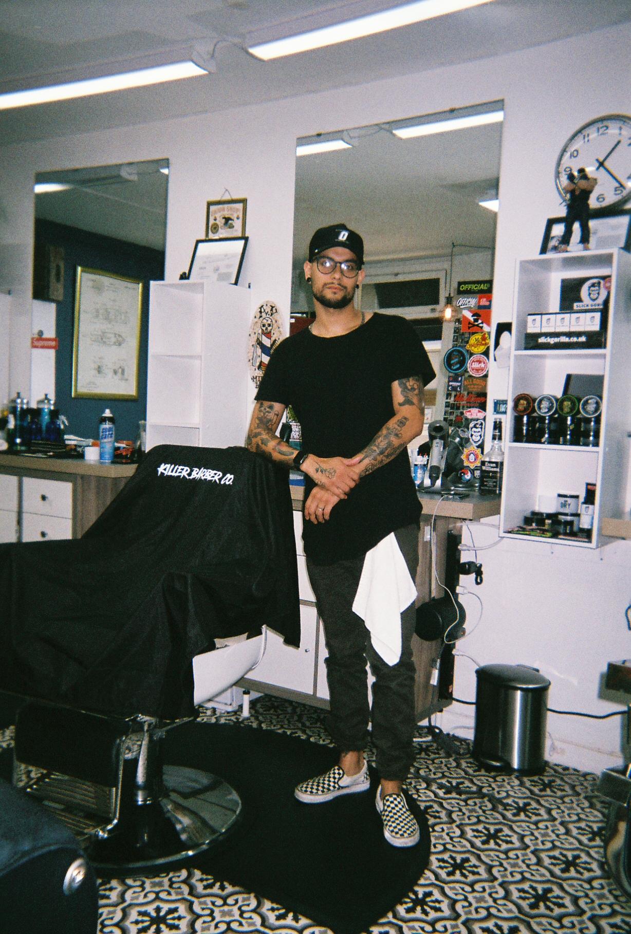 Midtown Barber Shop - Adrian Olivares @adrianvalentinethebarber