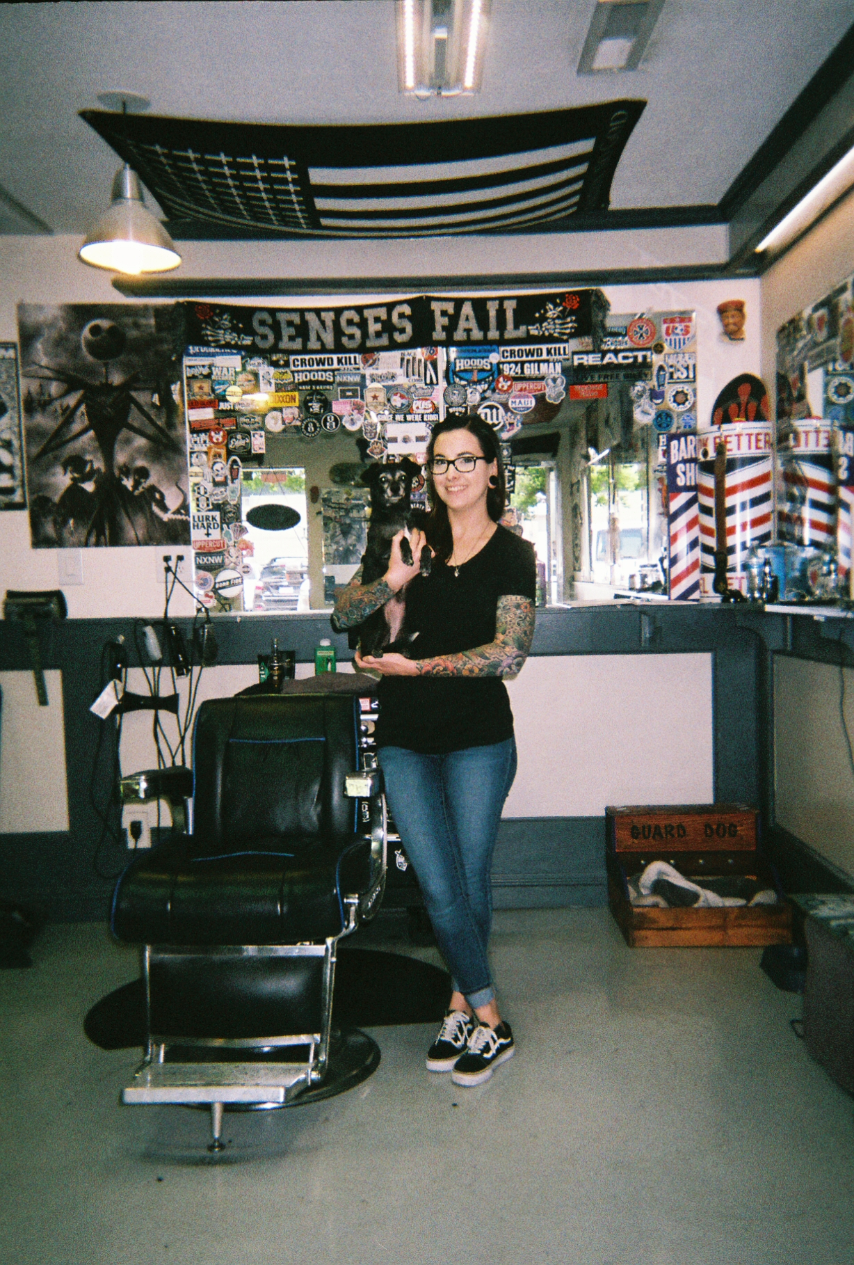 True Blue Barber Shop - Ashley LaGlamme @ashleylaflammehair
