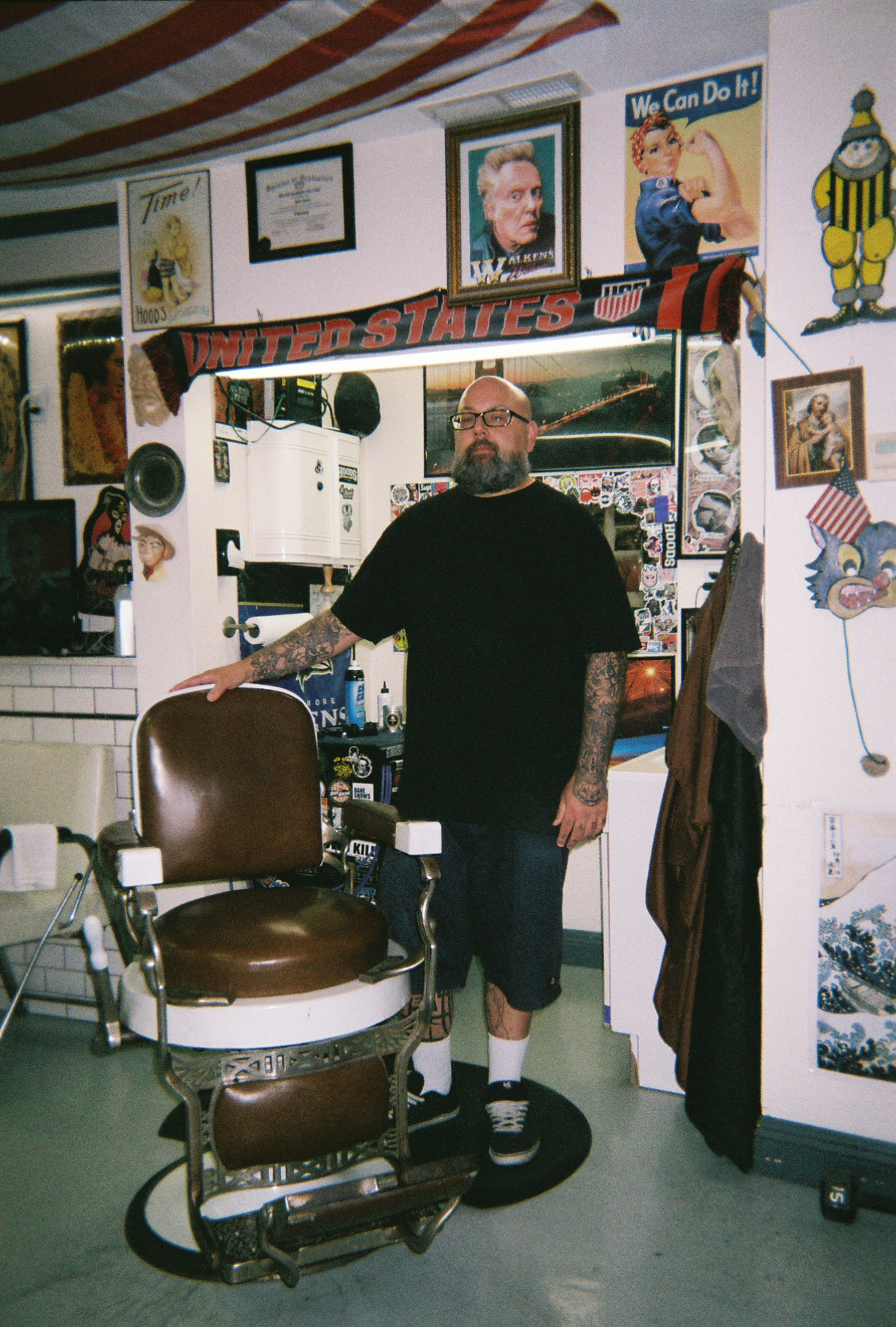 True Blue Barber Shop - Ben Jones