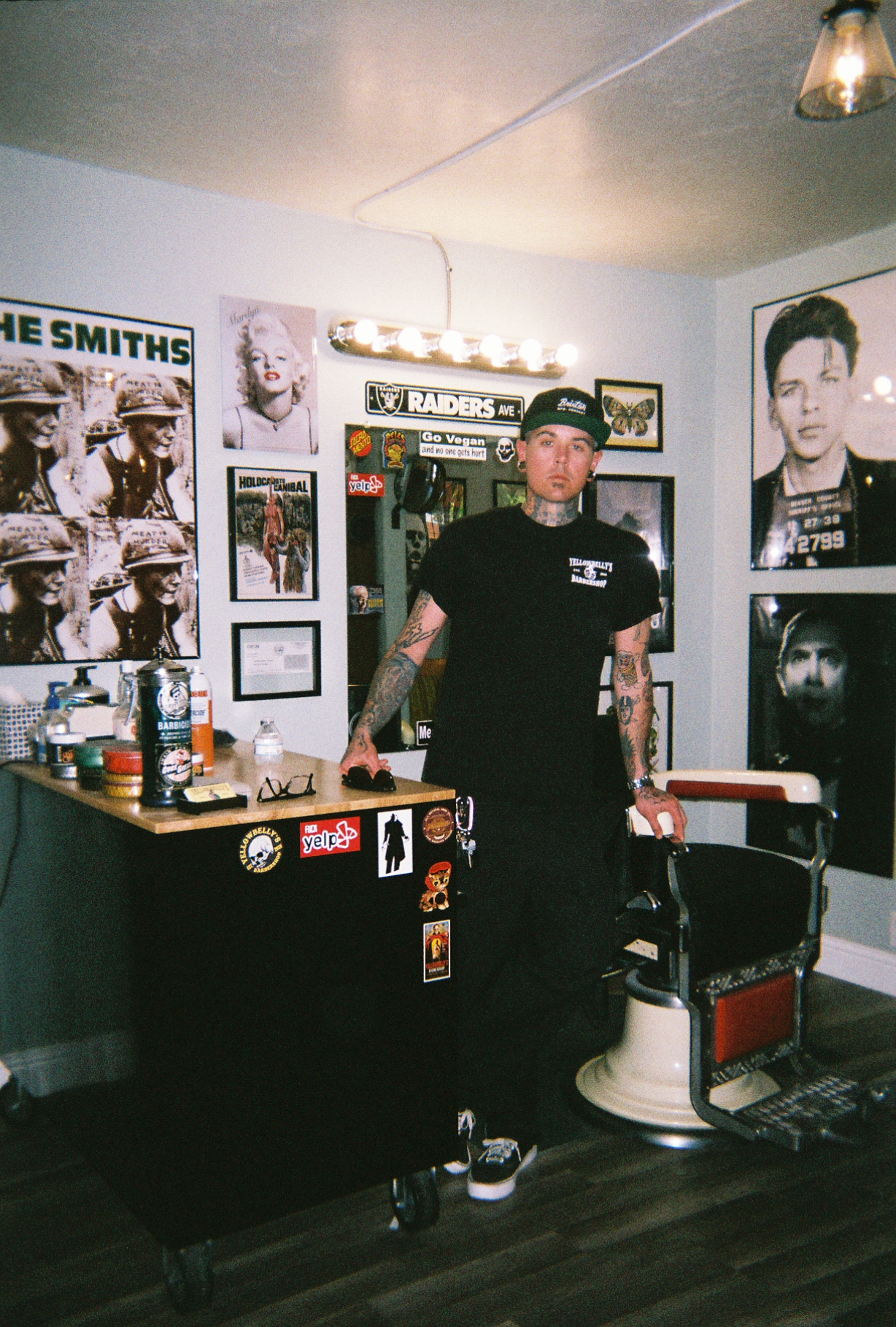 Yellowbelly's Barber Shop - Richie Telford @yellowbellysbarbershop