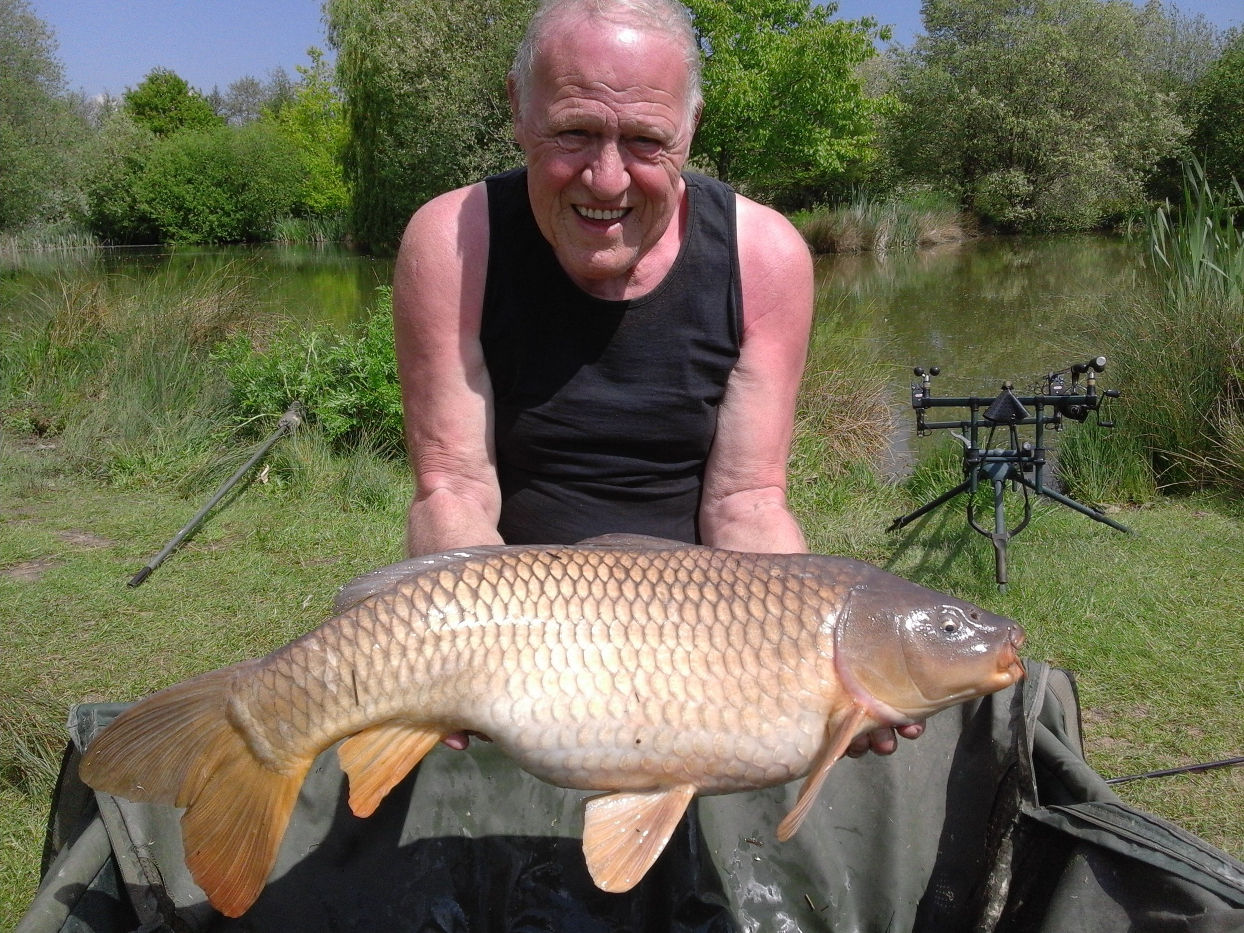 Terry and his 20lbs Common