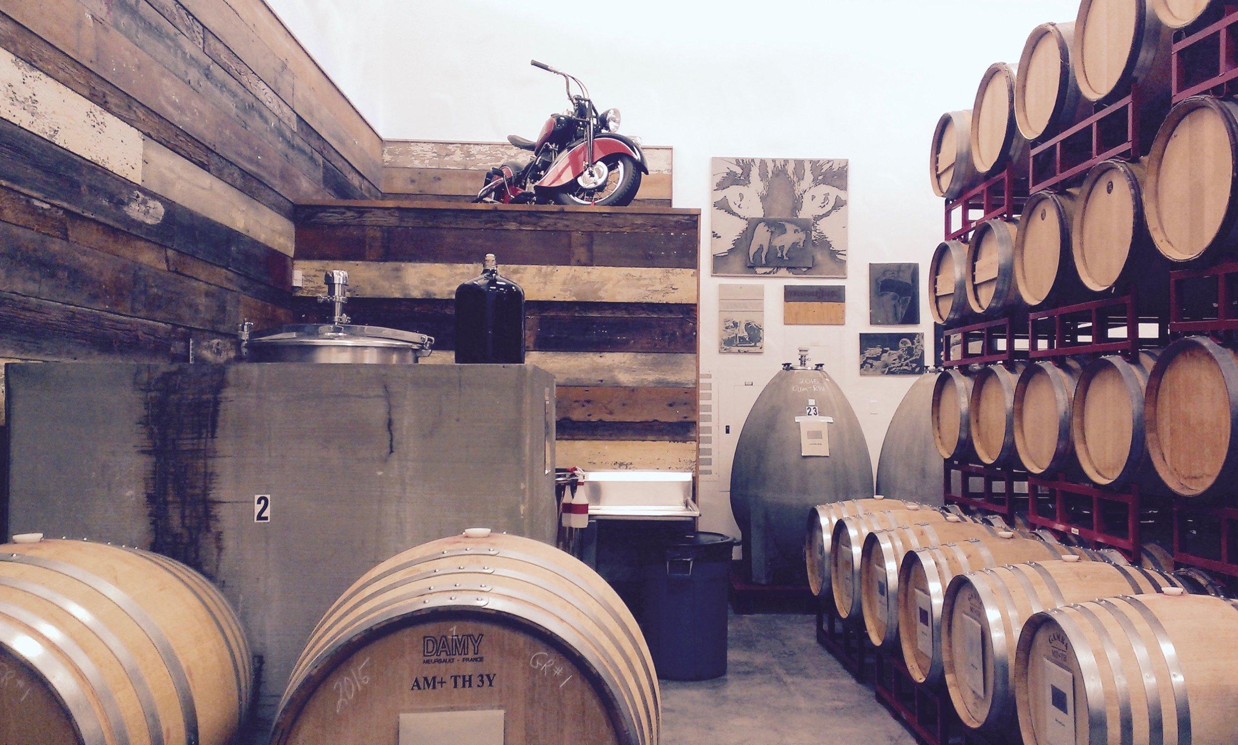 Sine Qua Non winery in Ojai