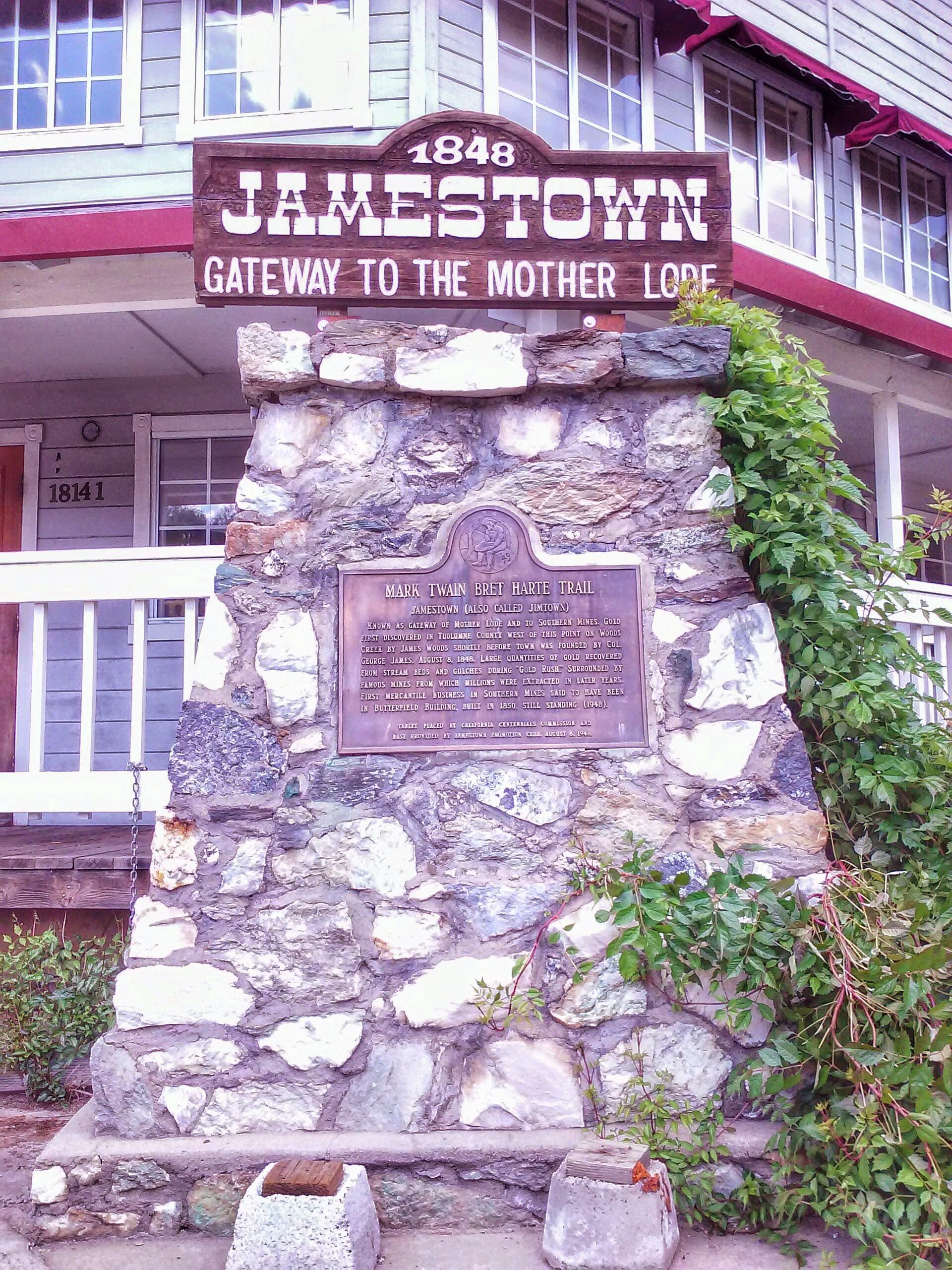 Jamestown Sign