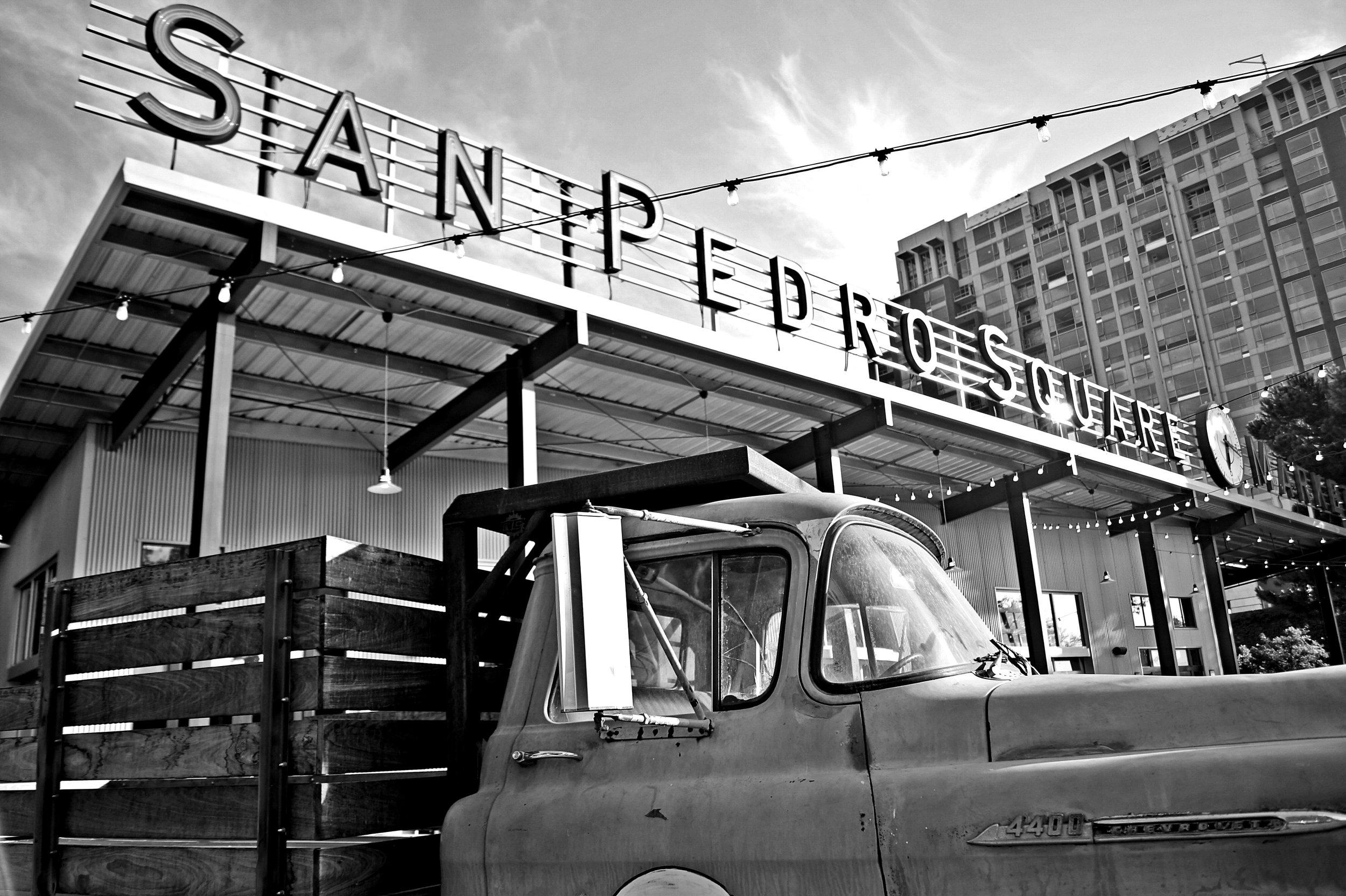 San Pedro Market Truck