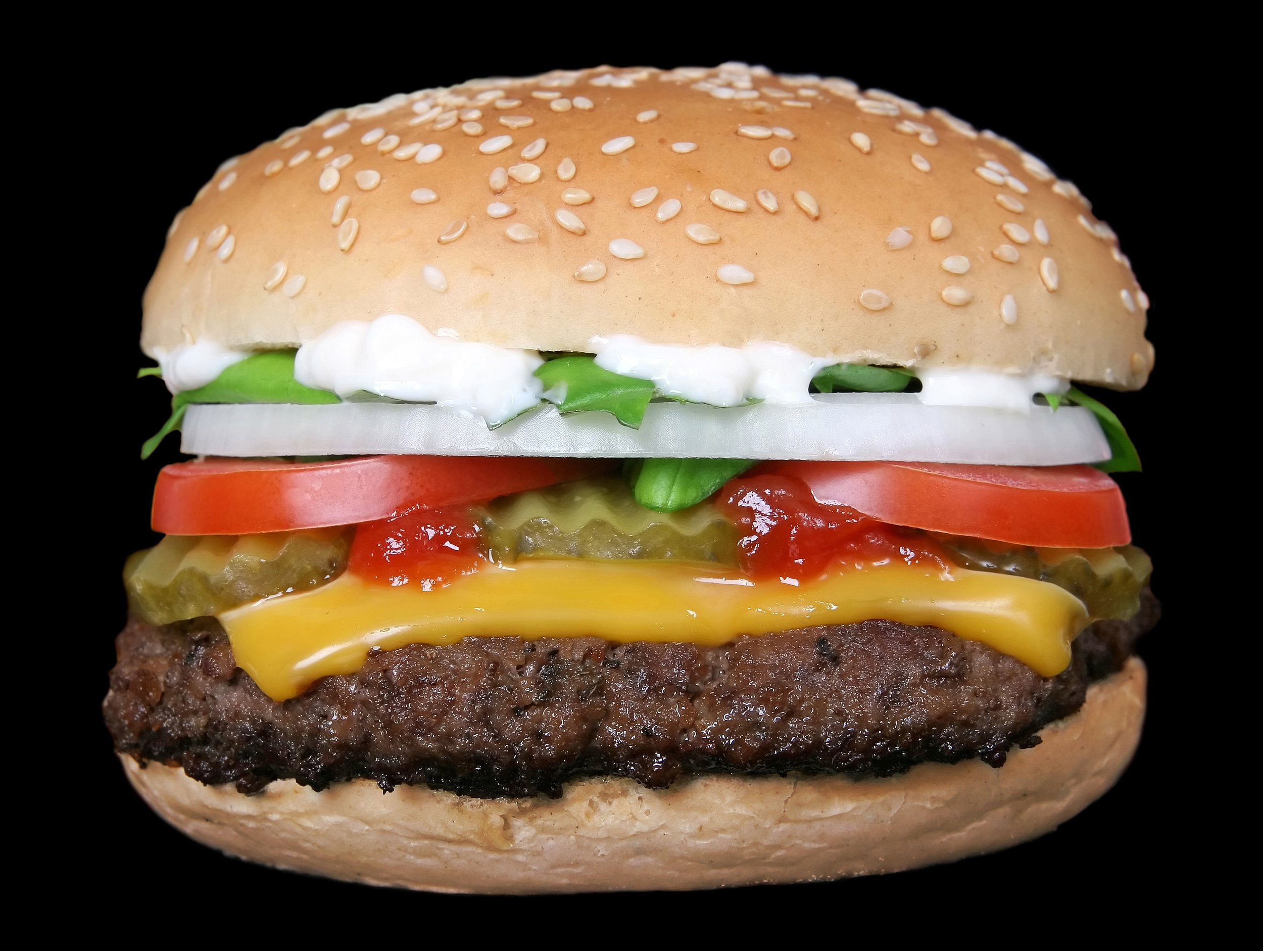 This is not a Dick's cheeseburger. It's a stock photo of a cheeseburger.
