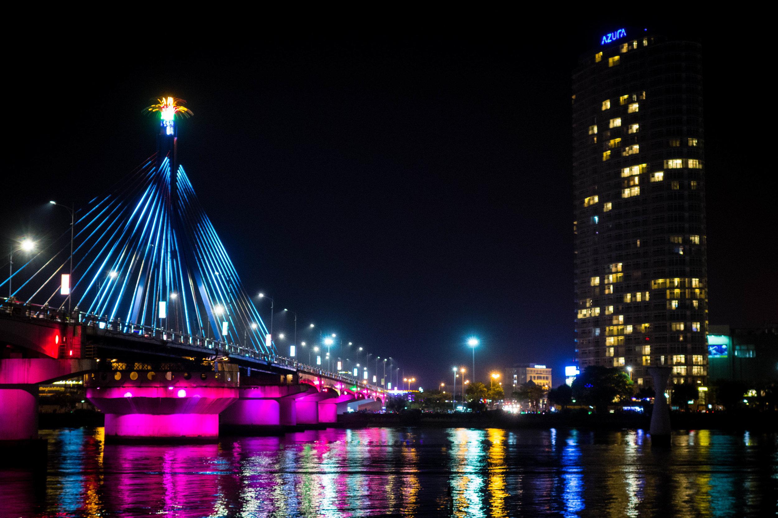 Nightime in DaNang