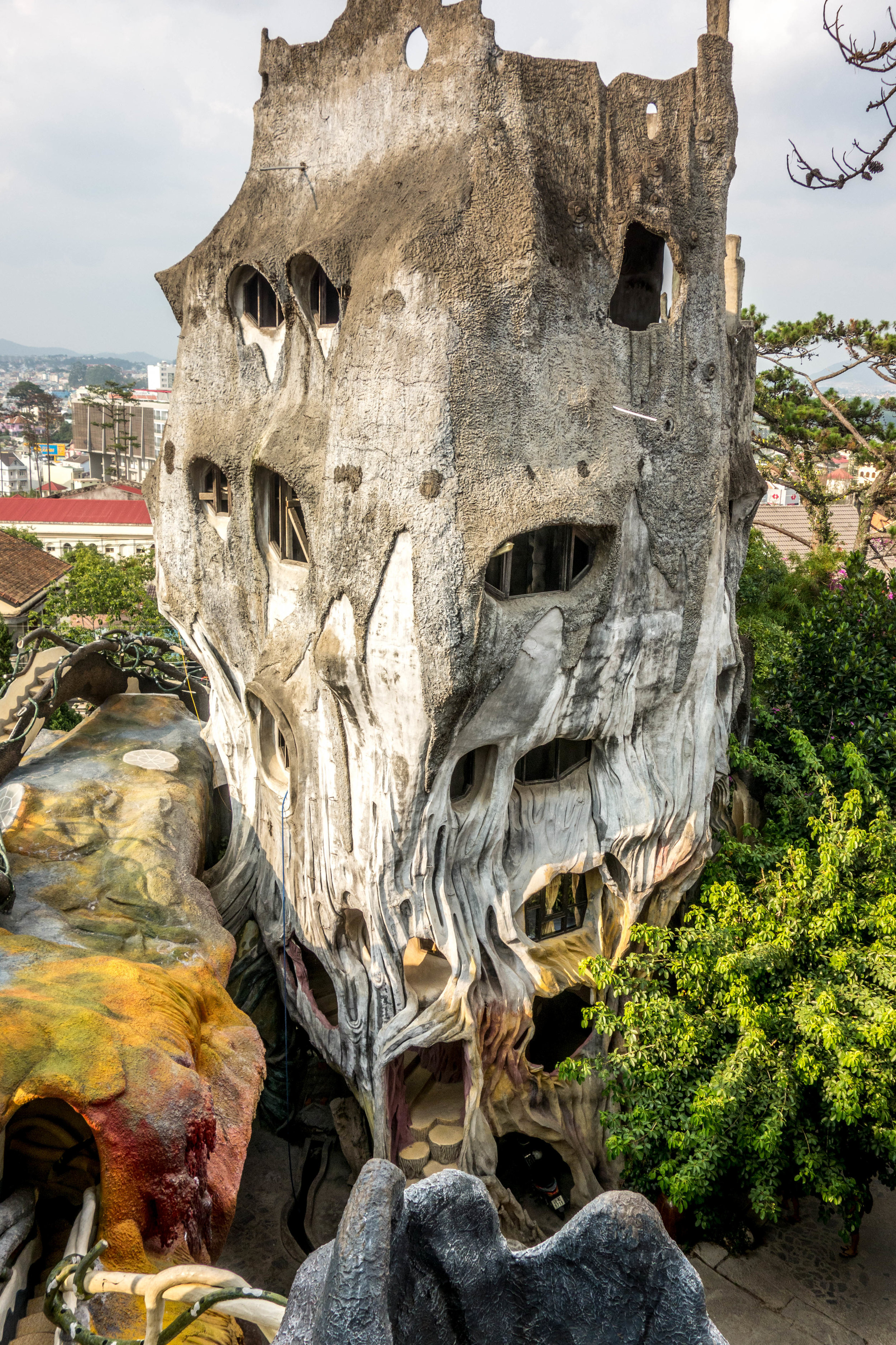 Crazy house in Da Lat; you can actually stay here for the night.