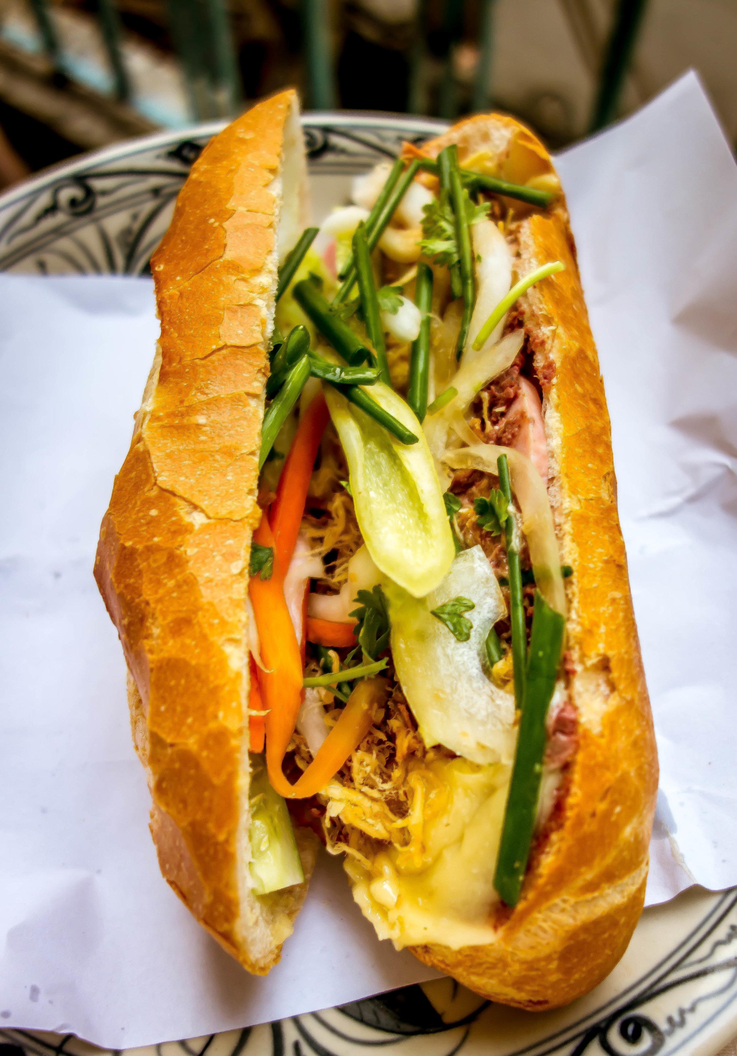 Banh mi from Ho Chi Minh City