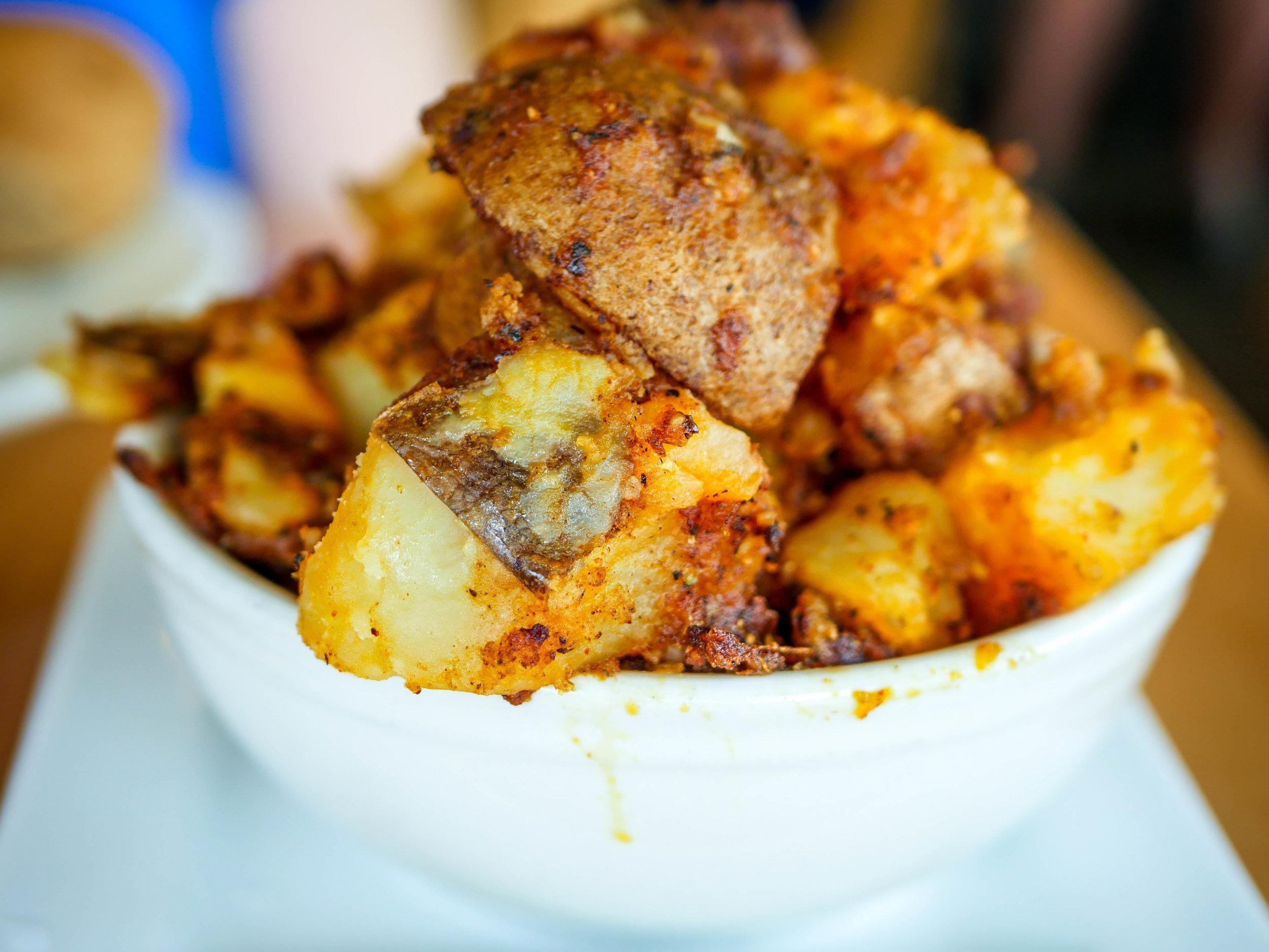 Seasoned potatoes from Marie Catrib's