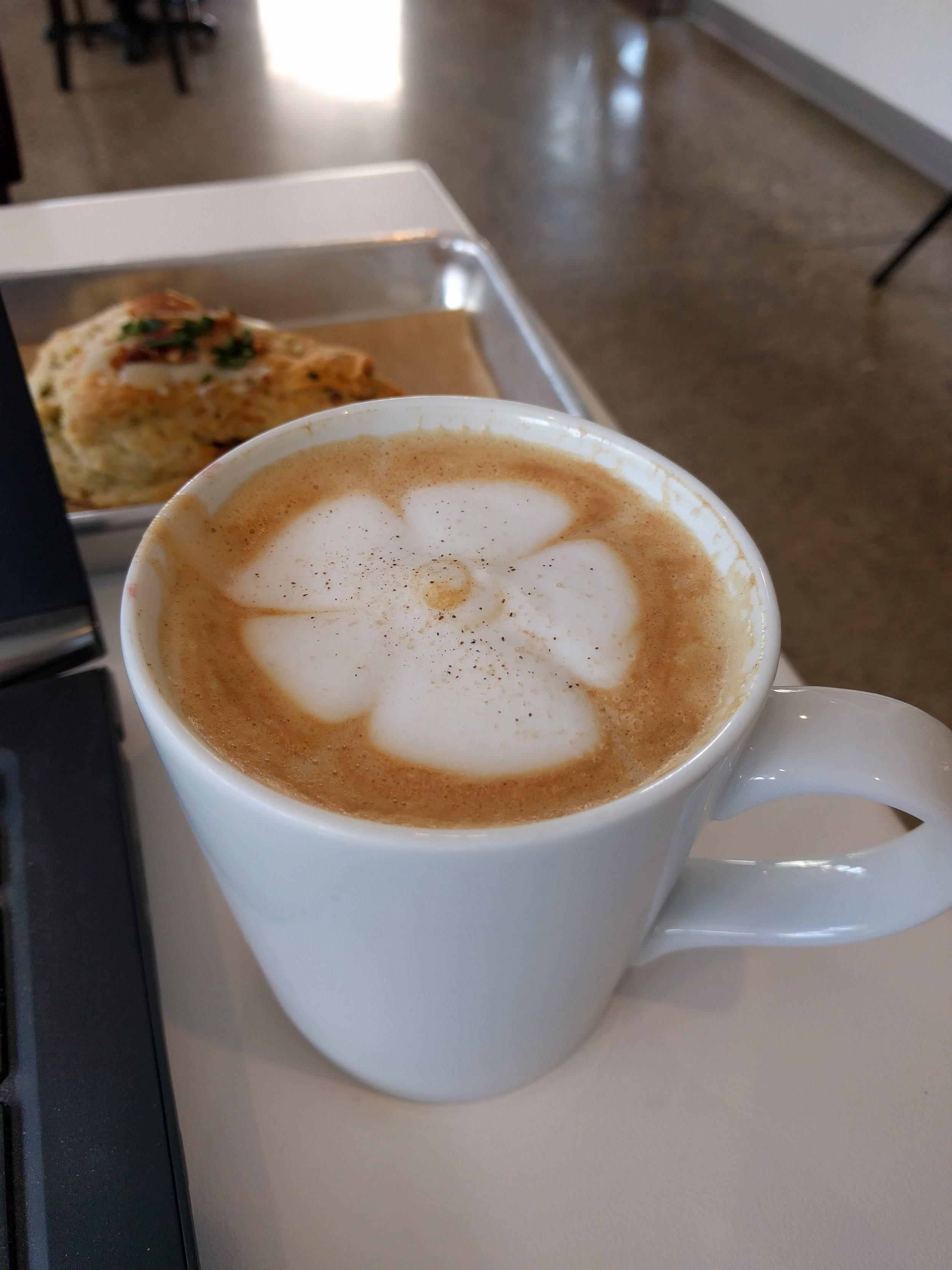 Miel Latte (aka honey latte) from That Early Bird