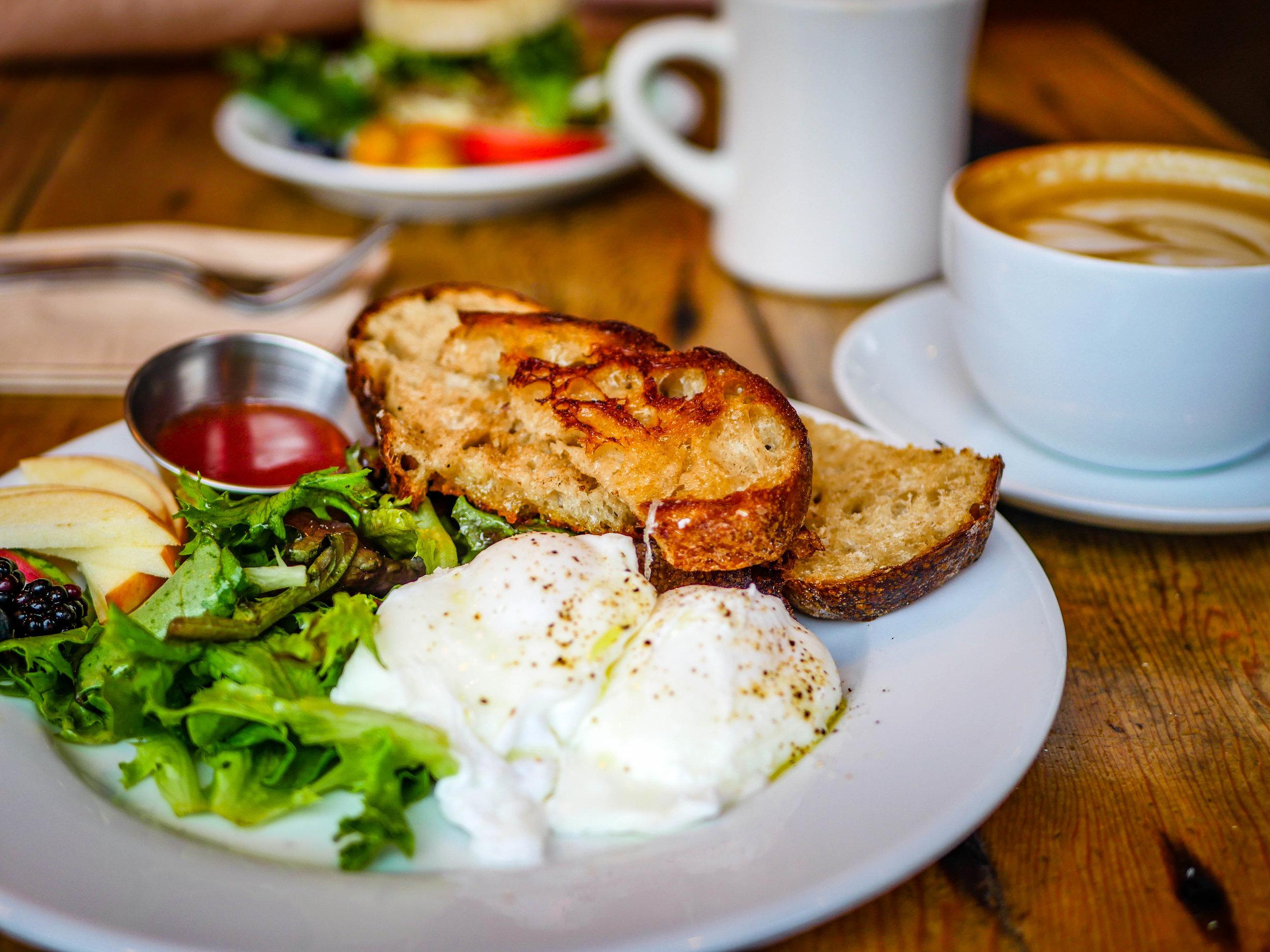 Ferry Street Breakfast from Fourteenth Street Cafe in Astoria, Oregon