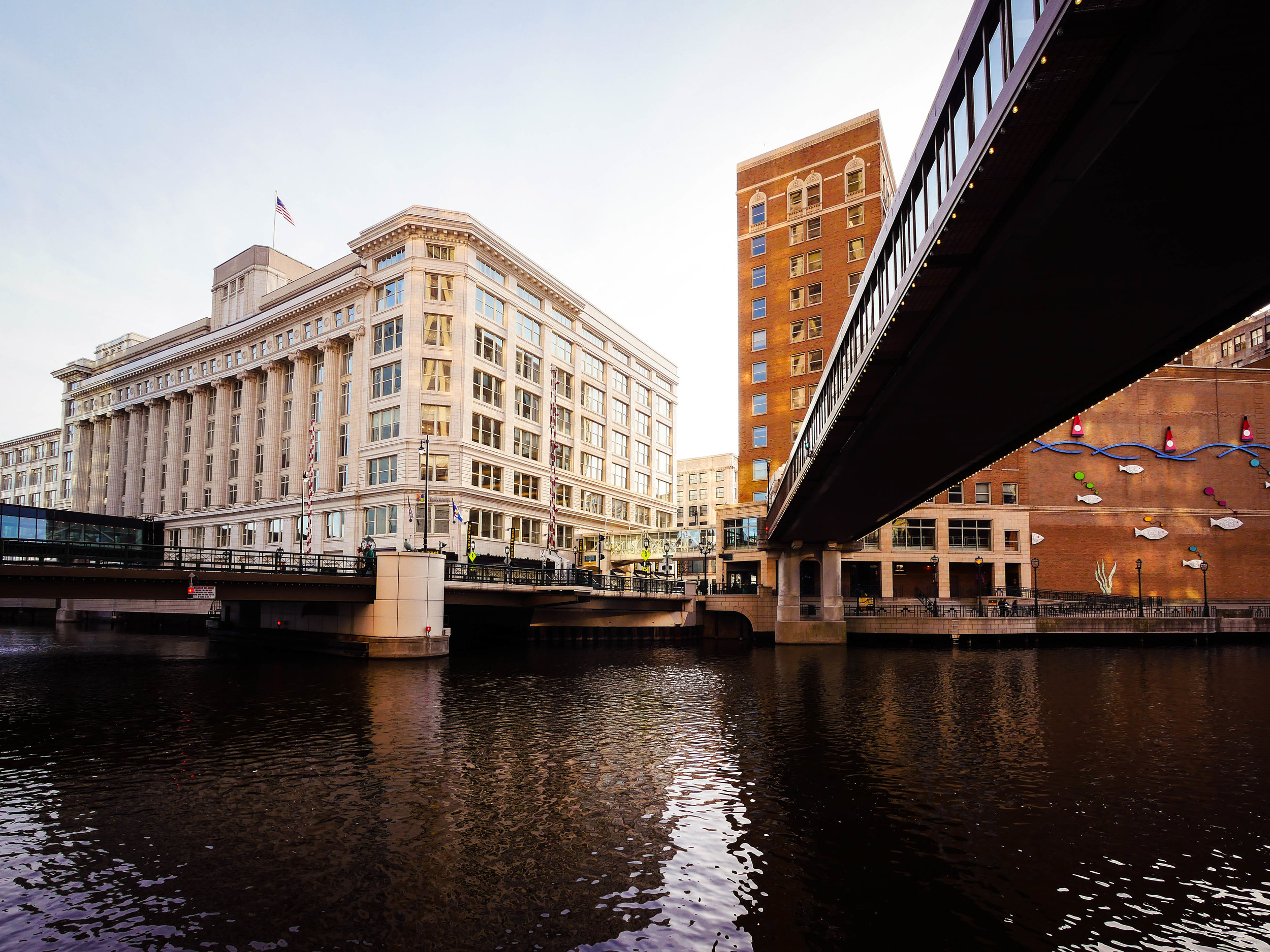 They also have bridges, so if you ever want to cross the Milwaukee.