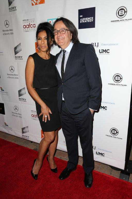7th AAFCA Awards - HBO Films Presidengt Len Amato with actress Khandi Alexander.jpg