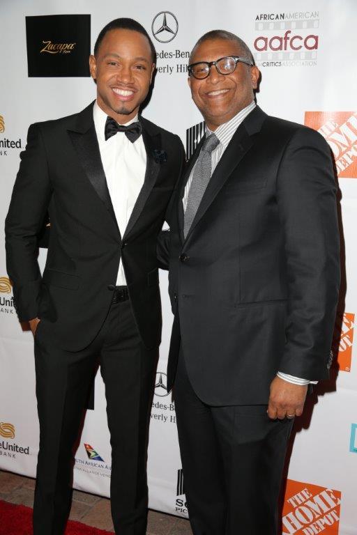 7th AAFCA Awards - Reggie Hudlin with Terrence J.jpg