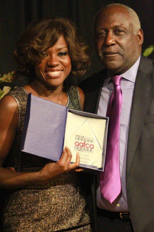 Viola Davis and Rickard Roundtree at the AAFCA Awards.jpg