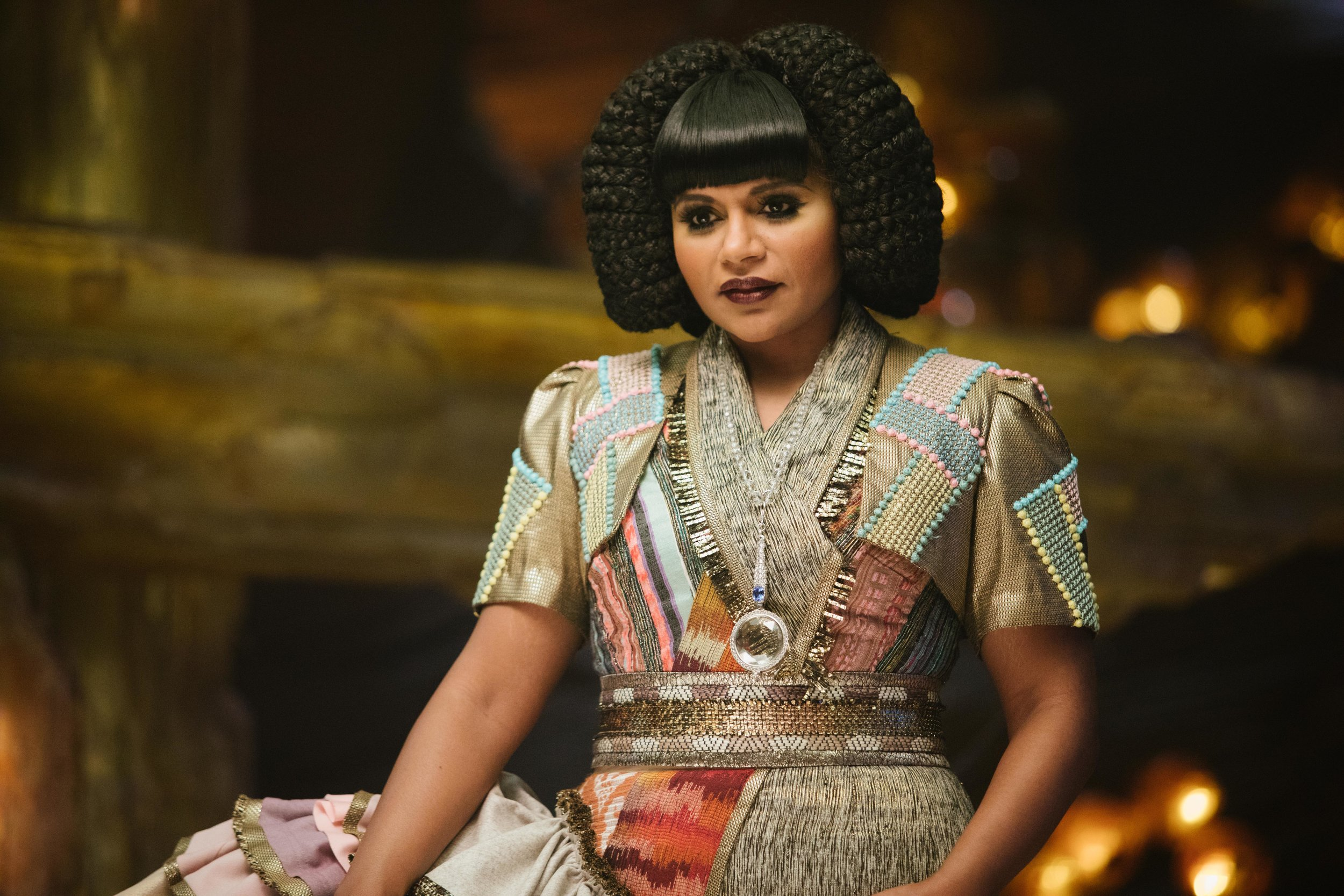 Mindy Kaling as Mrs Who in A Wrinkle in Time