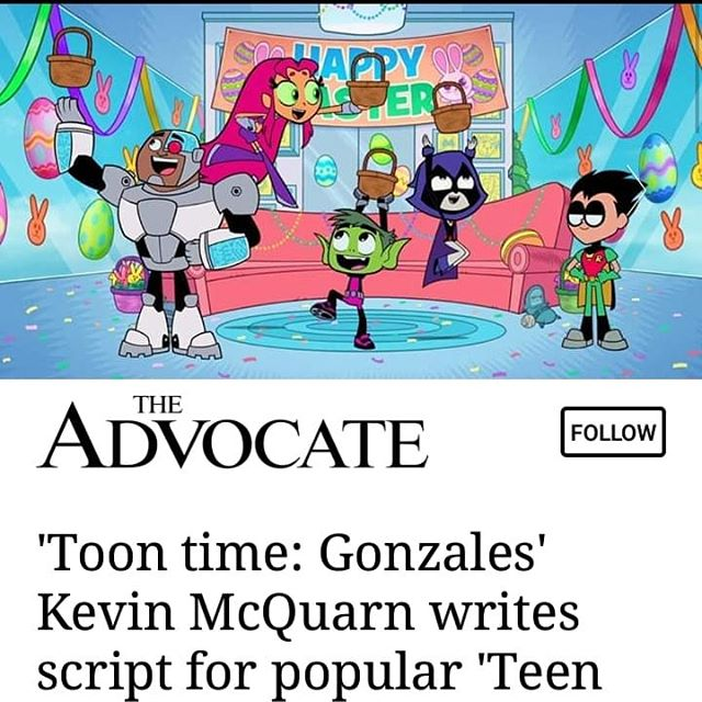"AAFCA members continue to do BIG THINGS!!! Congratulations to our own  Kevin McQuran who wrote the script for the popular Cartoon Network series ""Teen Titans Go!,"" that airs tonight! #blackexcellence #aafca360 #cartoonnetwork #"