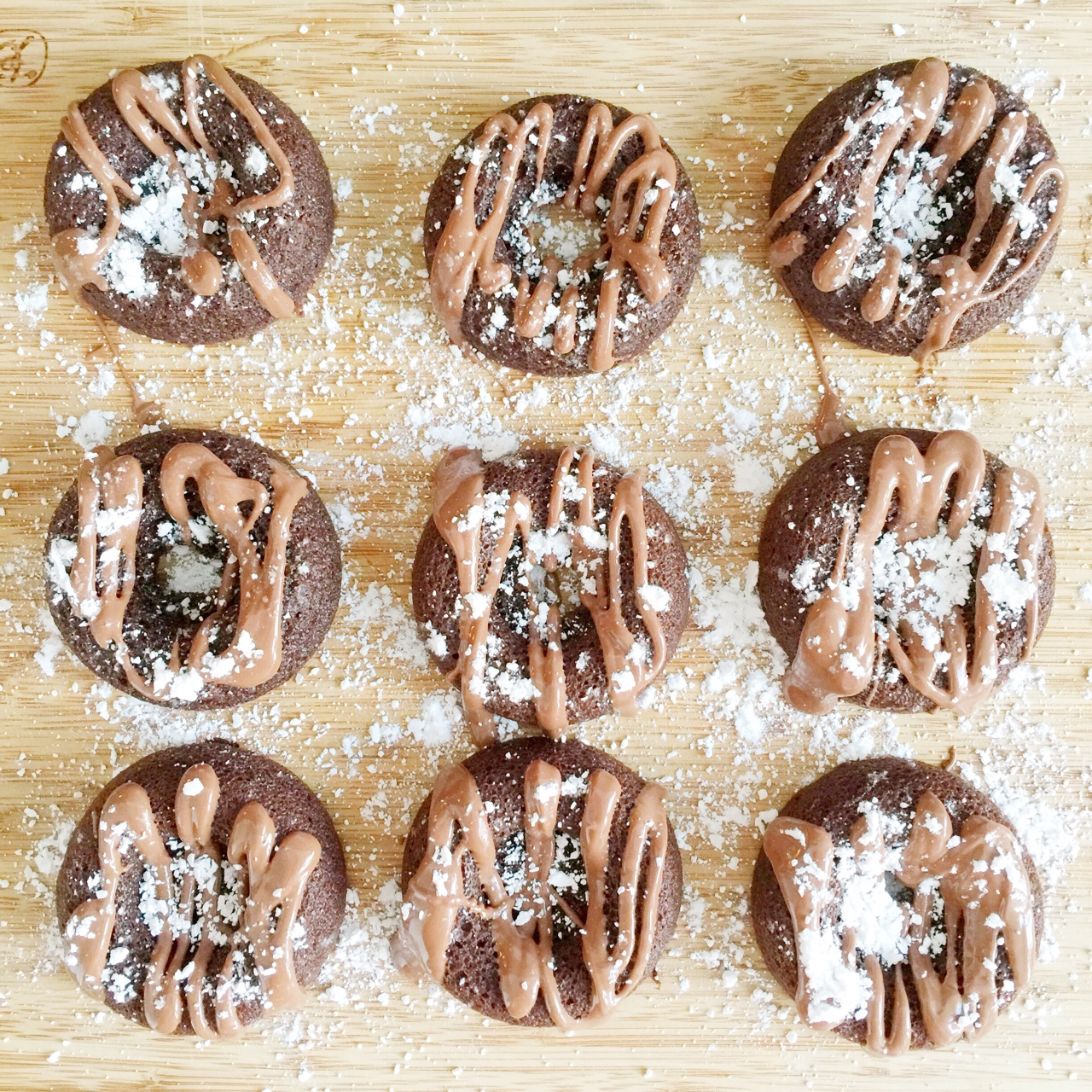 chocolate coconut flour donuts.