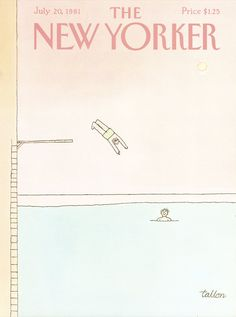 1980s New Yorker issues, with cover art by Robert Tallon
