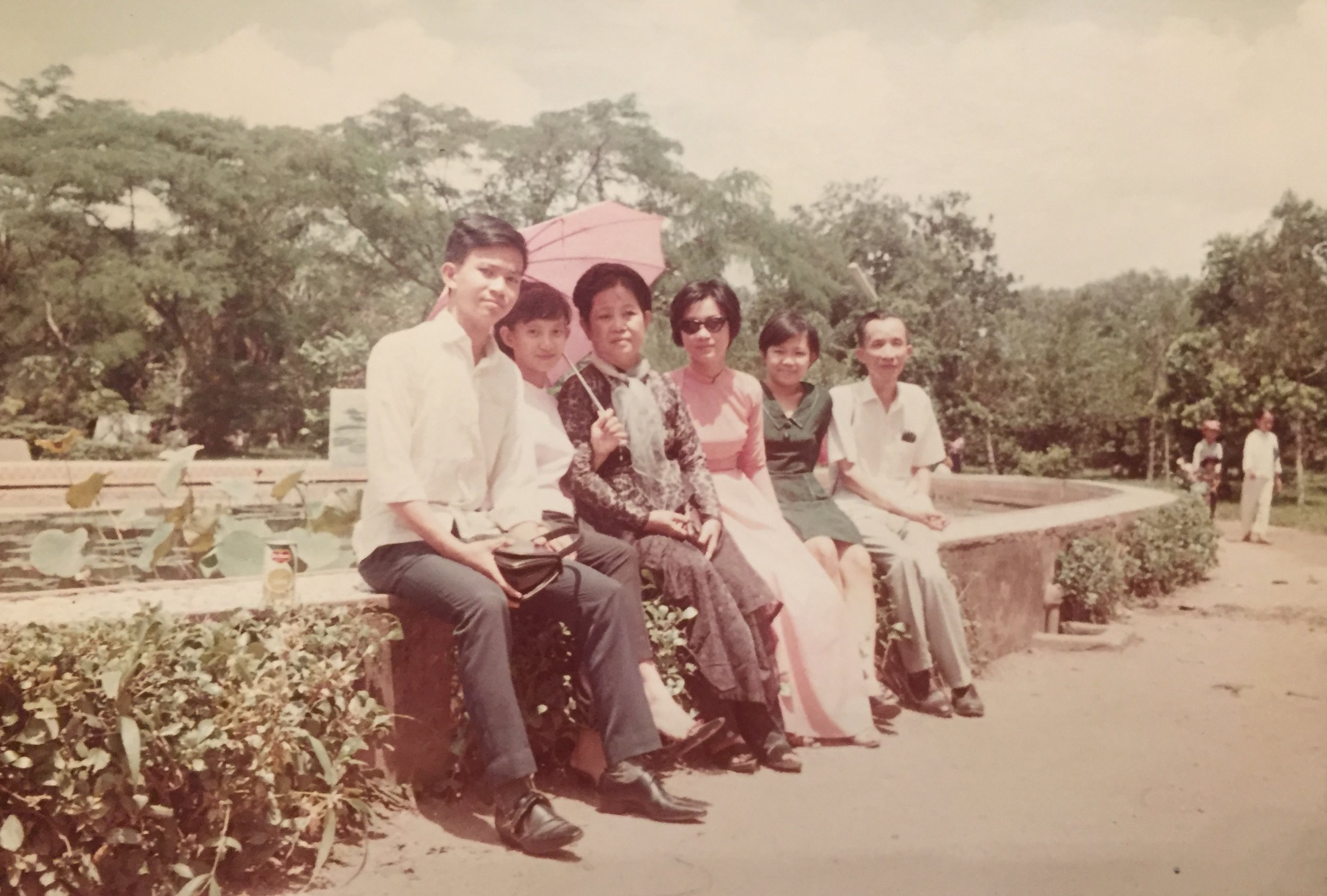 Mom in Saigon