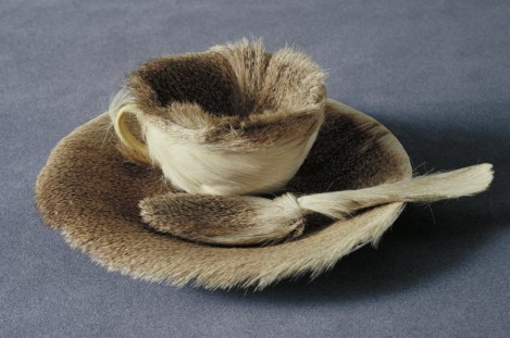 "Meret Oppenheim, ""Fur Breakfast"""
