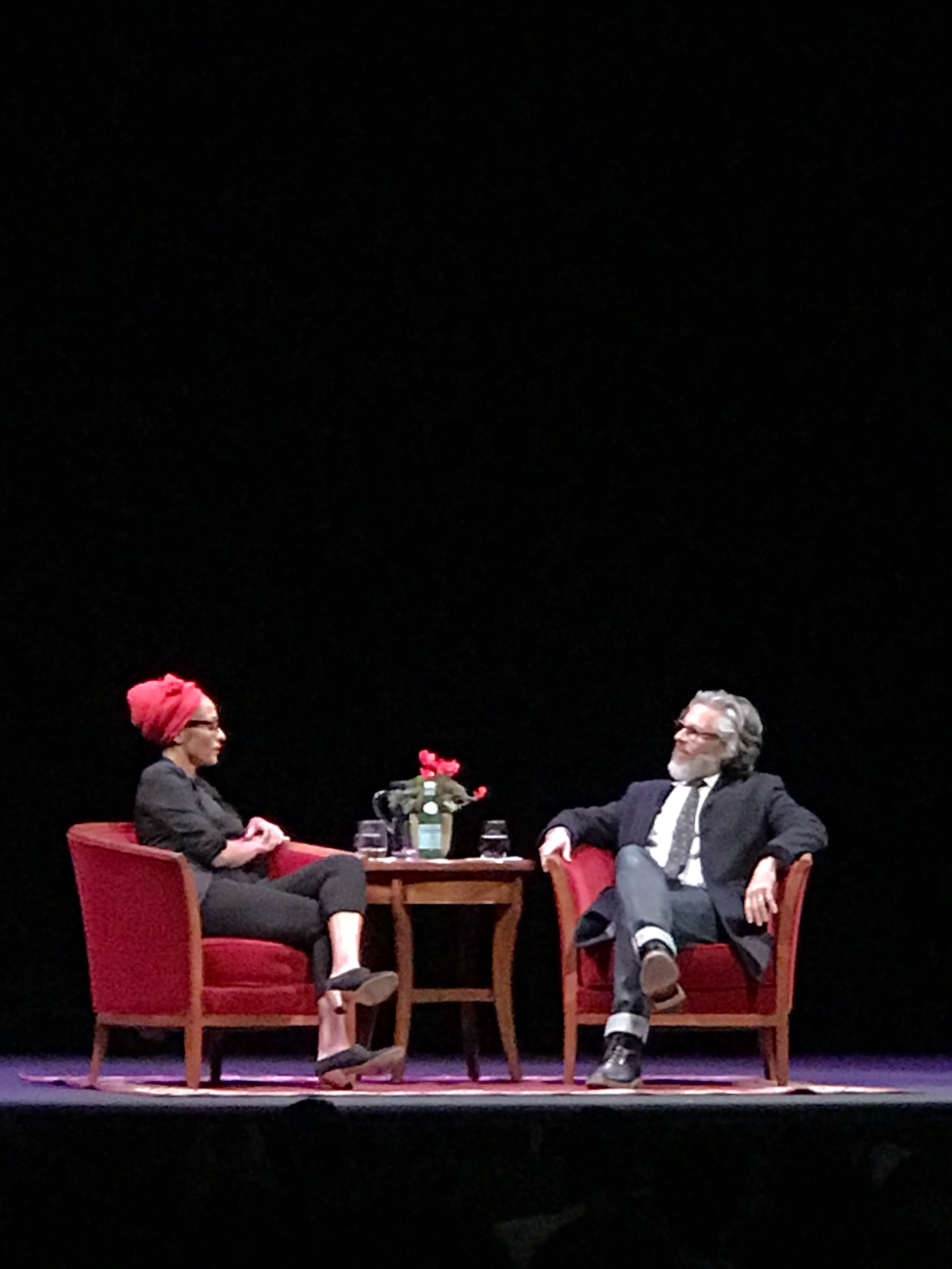 Zadie Smith and Michael Chabon in conversation at UCLA