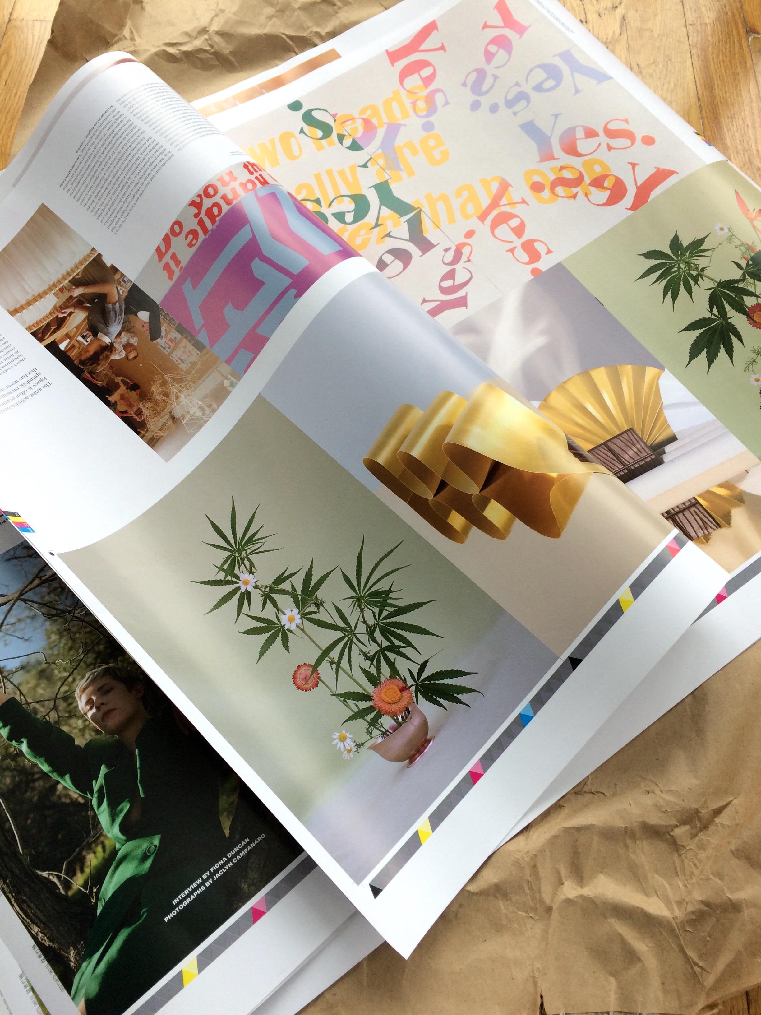 Broccoli magazine proofs