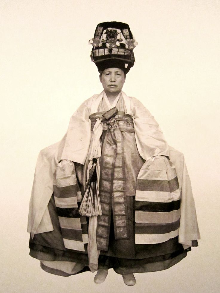 Tibetan shaman in traditional robes