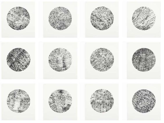 Rock Drawings by Richard Long, 1994