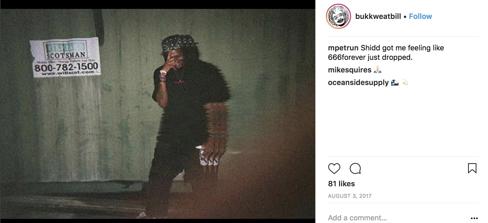 Bukkweat Bill on Instagram