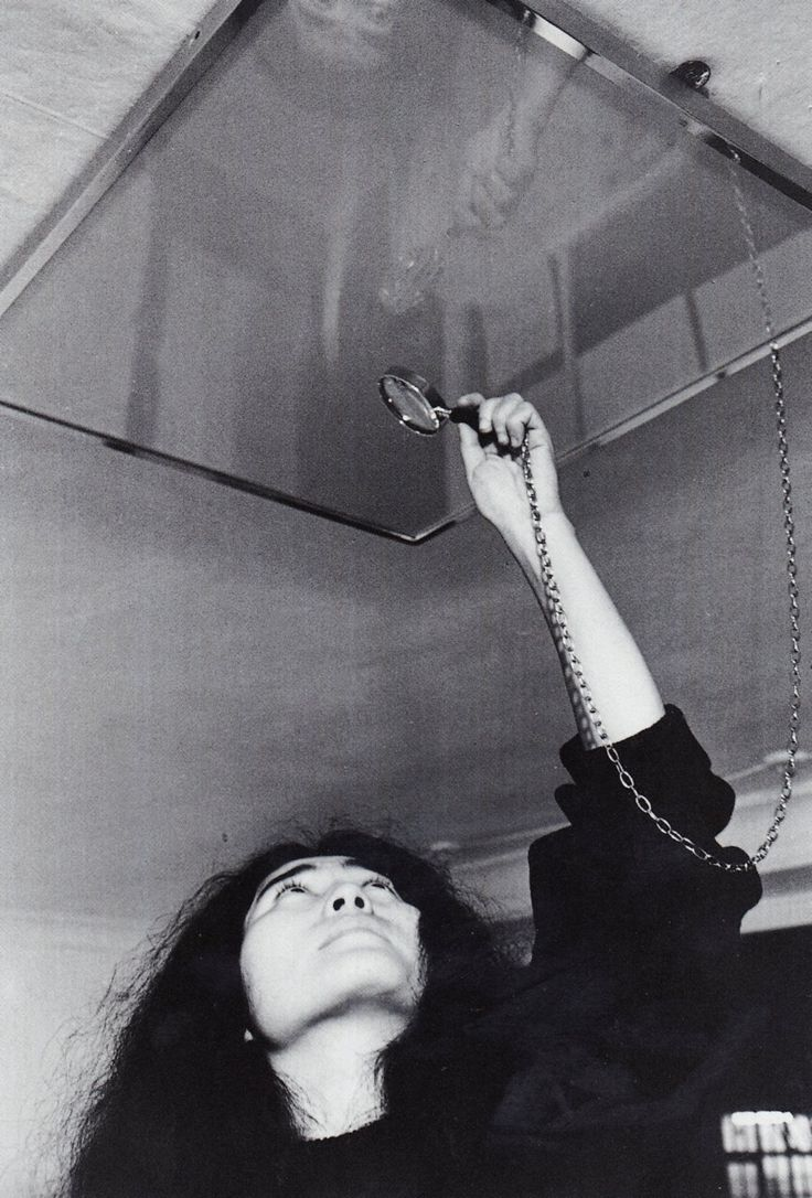 """My religion is to trust myself"" - Yoko Ono"