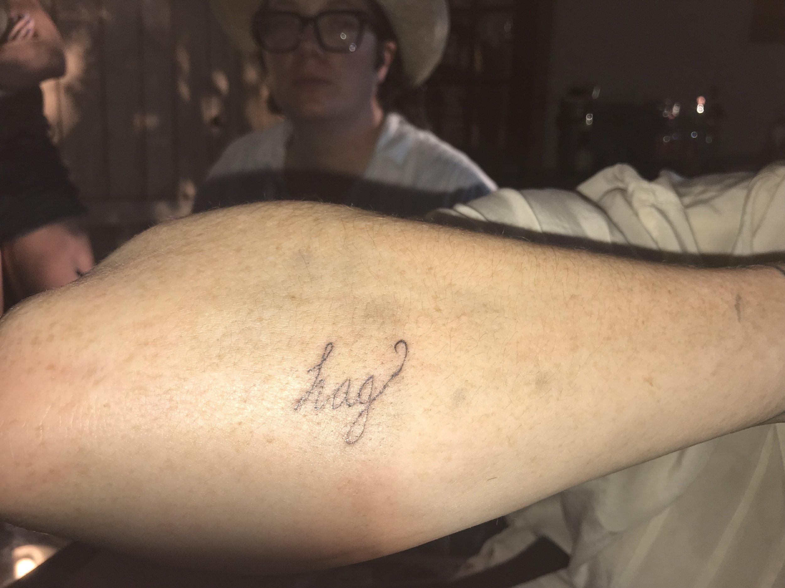 Hag tattoo