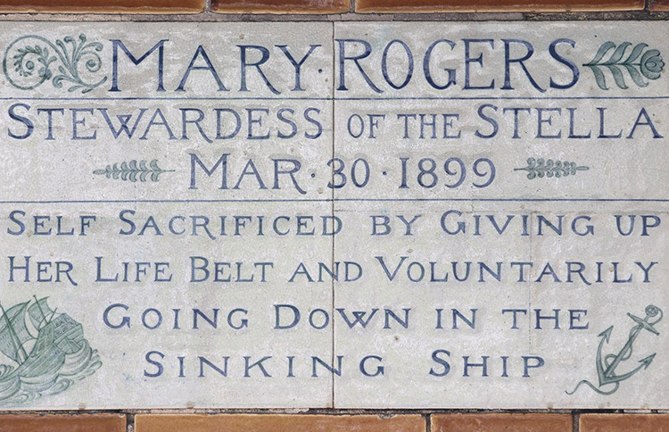 Mary's tile homage